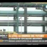 Informe sobre  el litio , la energia del futuro