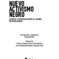 Nuevo activismo negro. Lecturas y estrategias contra el racismo en Estados Unidos
